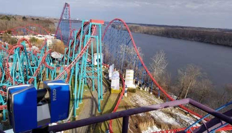 Using 3D Scanning Technology on Roller Coasters