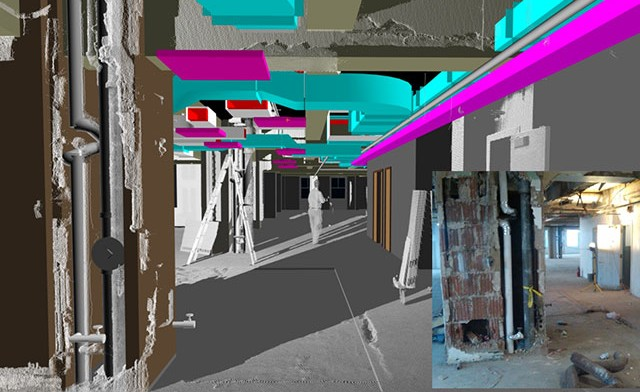 3D Laser Scanning Services & Virtual Building Documentation for the AEC Industry